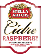 Stella Artois Cidre Raspberry