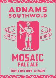 Adnams Jack Brand Mosaic Pale Ale