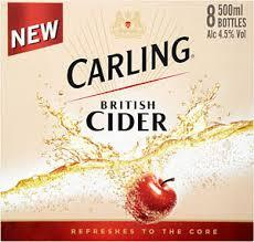 Carling British Cider Cherry