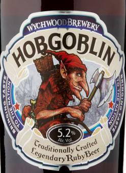 Wychwood Brewery Hobgoblin Traditionally Crafted Legendary Ruby Beer