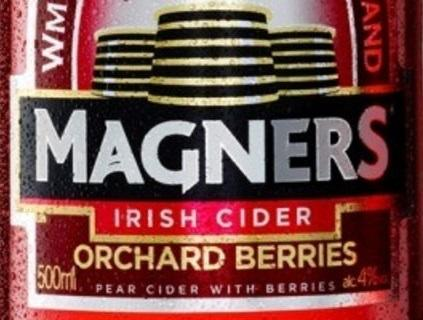 Magners Irish Cider Orchard Berries