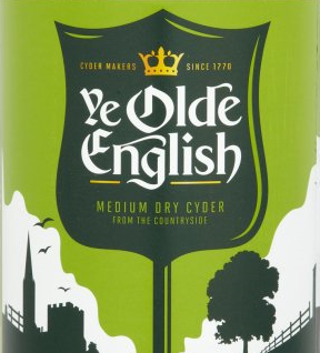 Ye Olde English Medium Dry Cider